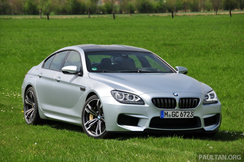 DRIVEN: New BMW M6 Gran Coupe tested in Munich Image #182016