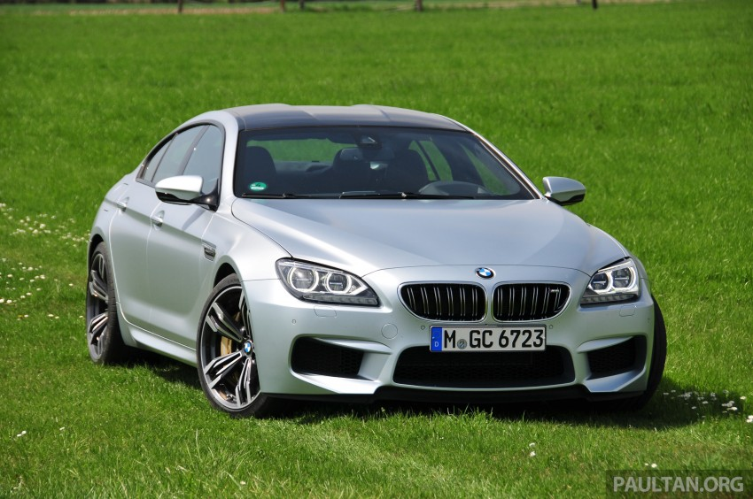 DRIVEN: New BMW M6 Gran Coupe tested in Munich Image #182017