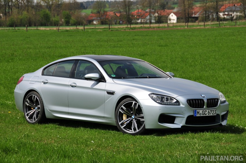DRIVEN: New BMW M6 Gran Coupe tested in Munich Image #182018