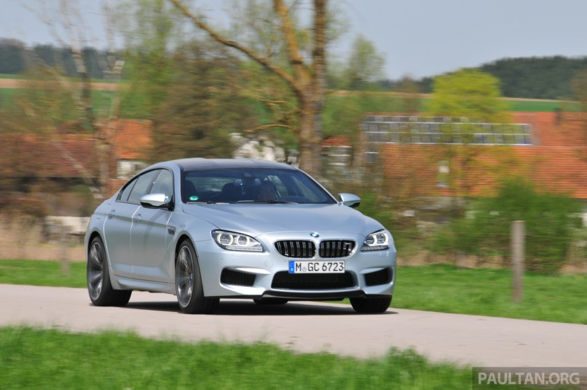 DRIVEN: New BMW M6 Gran Coupe tested in Munich Image #182019