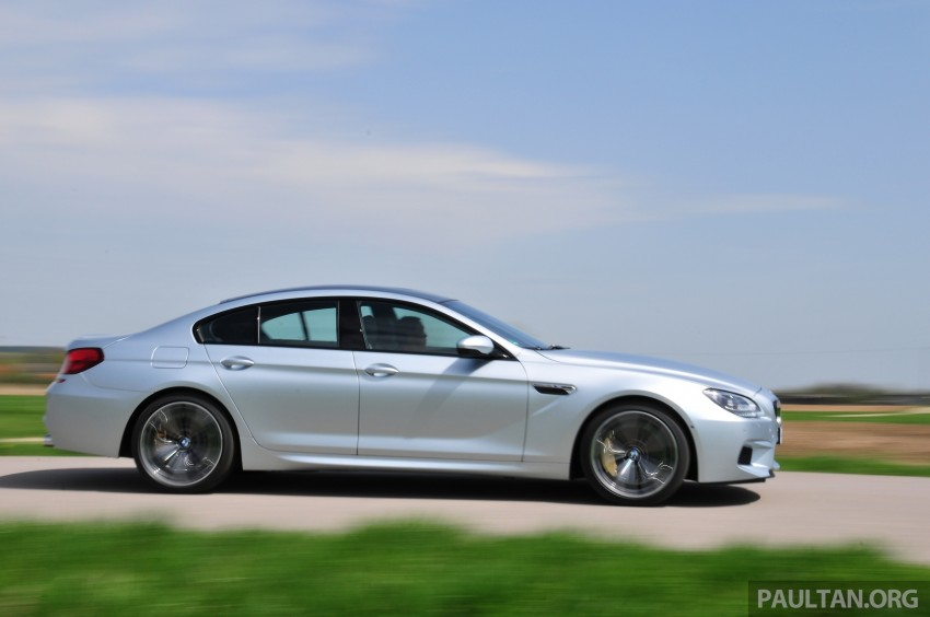 DRIVEN: New BMW M6 Gran Coupe tested in Munich Image #182020