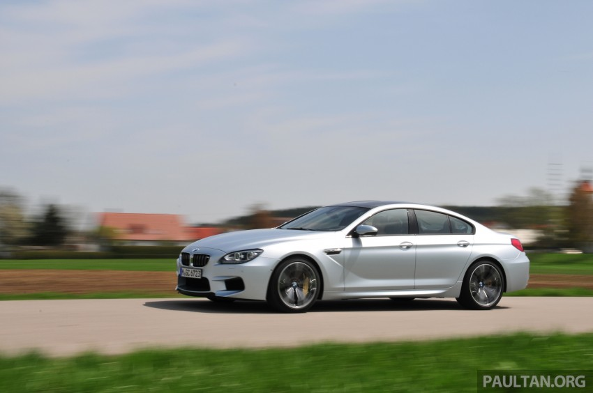 DRIVEN: New BMW M6 Gran Coupe tested in Munich Image #182021