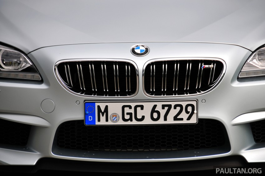 DRIVEN: New BMW M6 Gran Coupe tested in Munich Image #182039