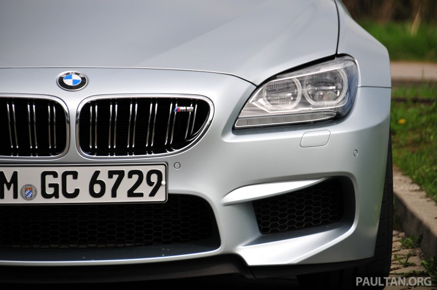 DRIVEN: New BMW M6 Gran Coupe tested in Munich Image #182040