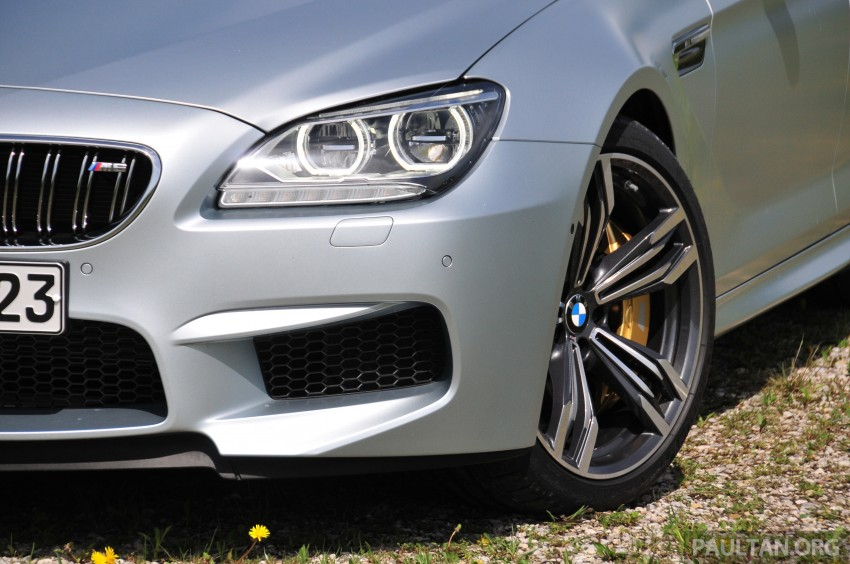 DRIVEN: New BMW M6 Gran Coupe tested in Munich Image #182041
