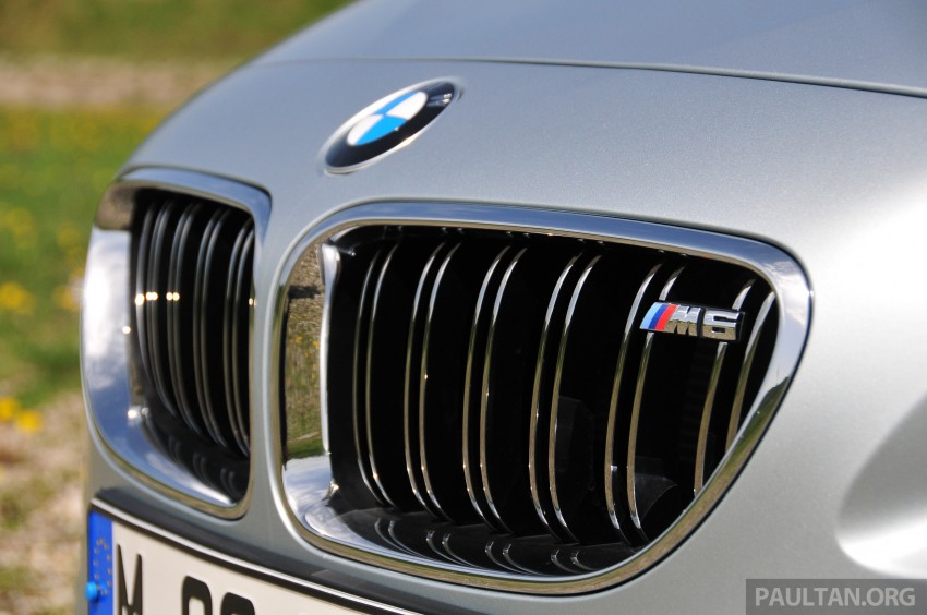 DRIVEN: New BMW M6 Gran Coupe tested in Munich Image #182043