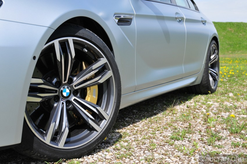 DRIVEN: New BMW M6 Gran Coupe tested in Munich Image #182047