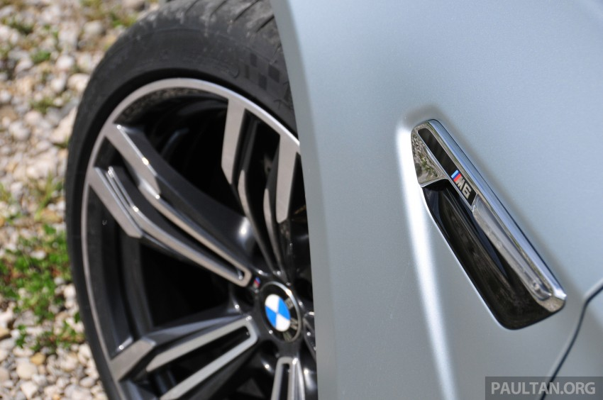 DRIVEN: New BMW M6 Gran Coupe tested in Munich Image #182056