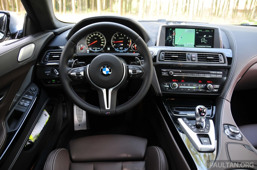 DRIVEN: New BMW M6 Gran Coupe tested in Munich Image #182064