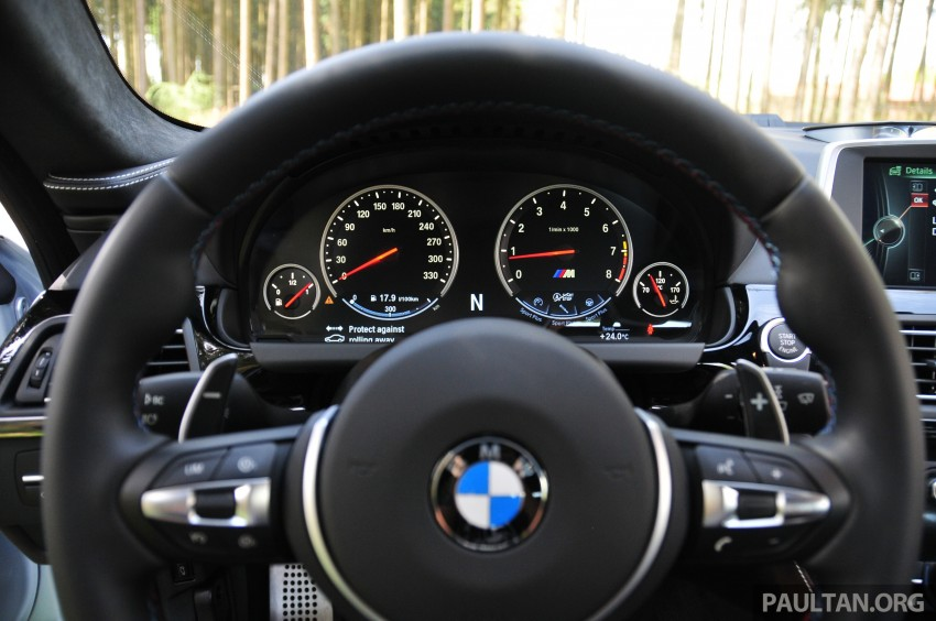 DRIVEN: New BMW M6 Gran Coupe tested in Munich Image #182081
