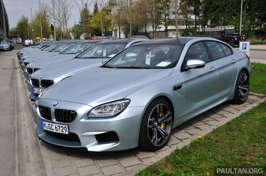 DRIVEN: New BMW M6 Gran Coupe tested in Munich Image #182092
