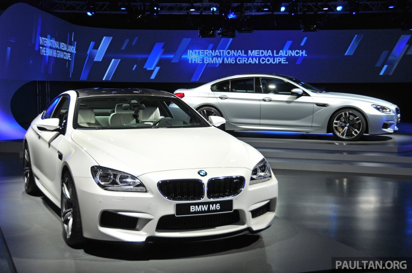 DRIVEN: New BMW M6 Gran Coupe tested in Munich Image #182094