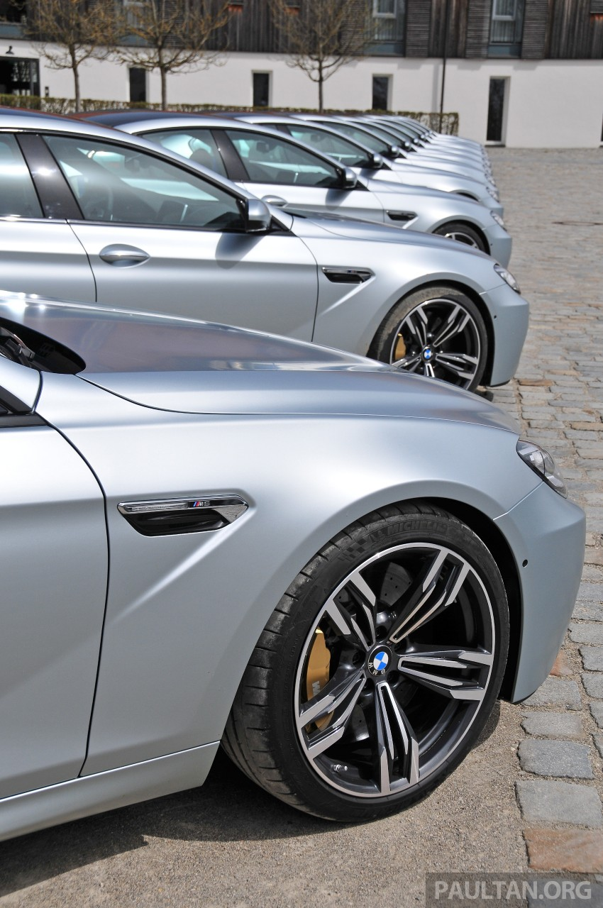 DRIVEN: New BMW M6 Gran Coupe tested in Munich Image #182098