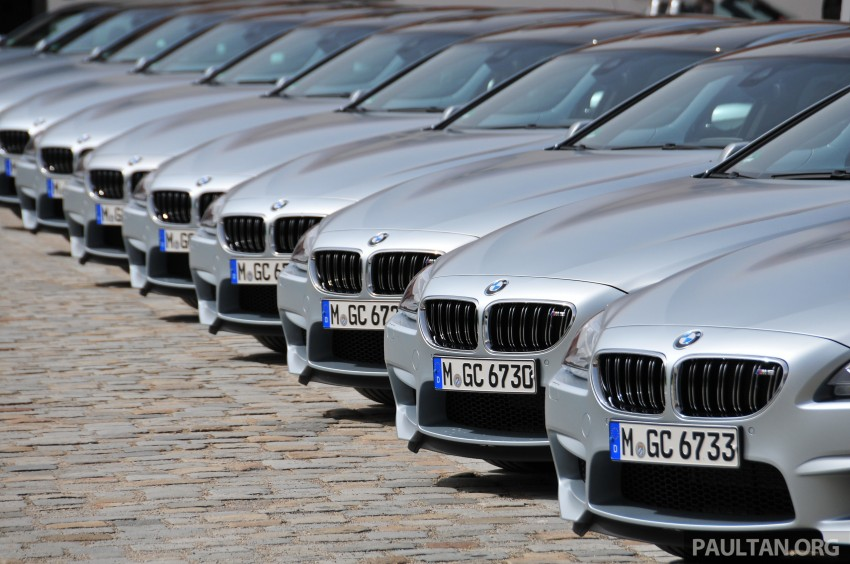 DRIVEN: New BMW M6 Gran Coupe tested in Munich Image #182100