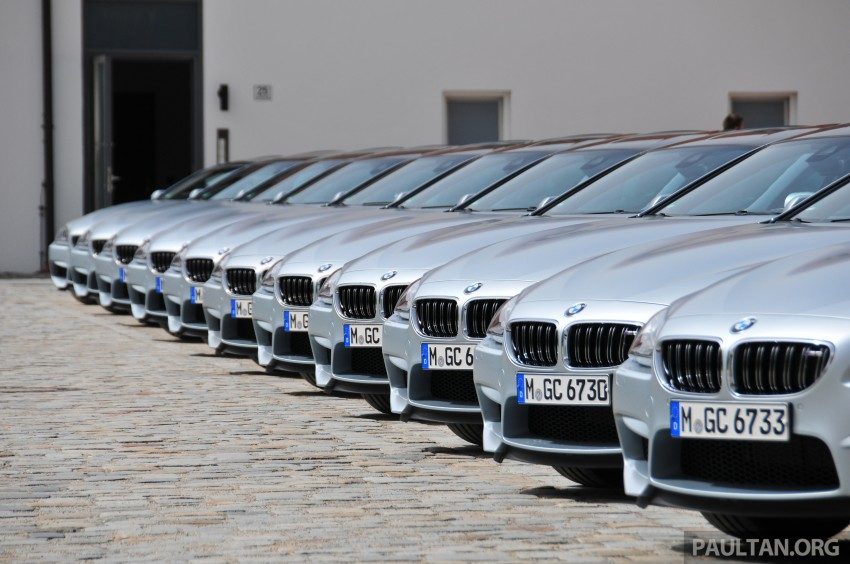 DRIVEN: New BMW M6 Gran Coupe tested in Munich Image #182101