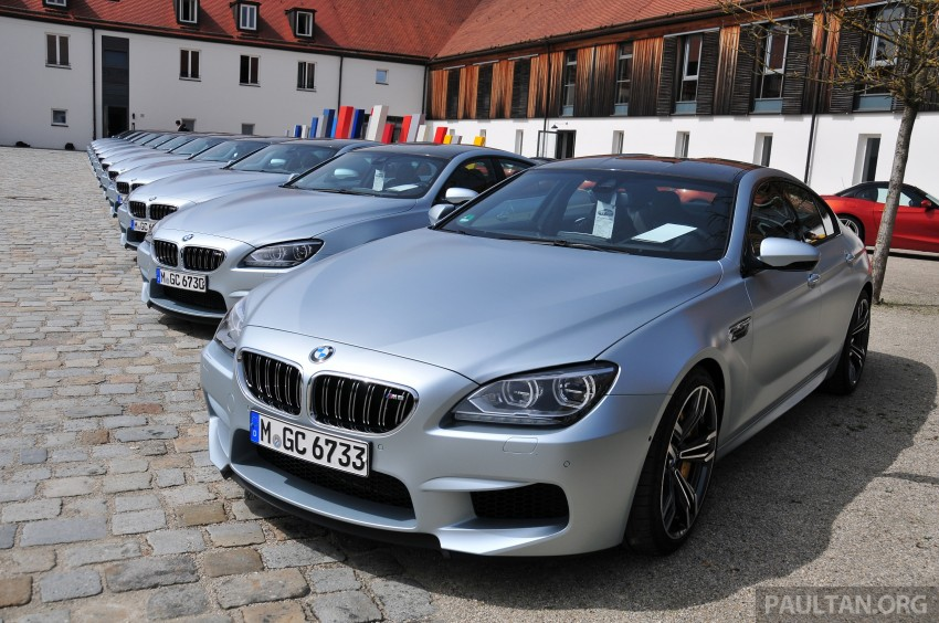 DRIVEN: New BMW M6 Gran Coupe tested in Munich Image #182102