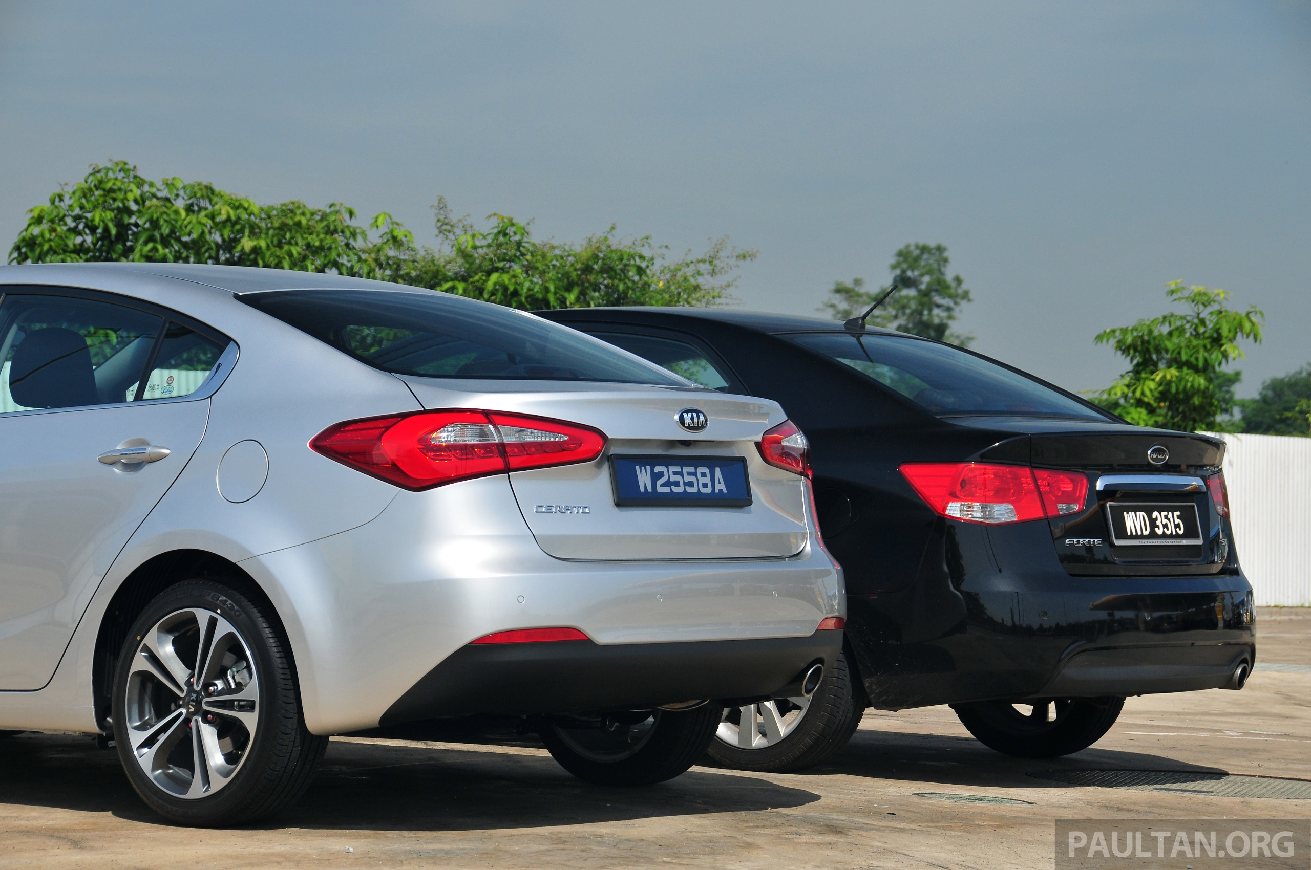GALLERY: New Kia Cerato and Naza Forte side by side Paul ...