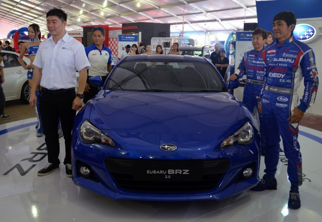 After What Has Seemed Like An Eternity The Subaru Brz Finally Enters Malaysian Scene Toyota 86 S Body Double Was Launched This Morning Amidst
