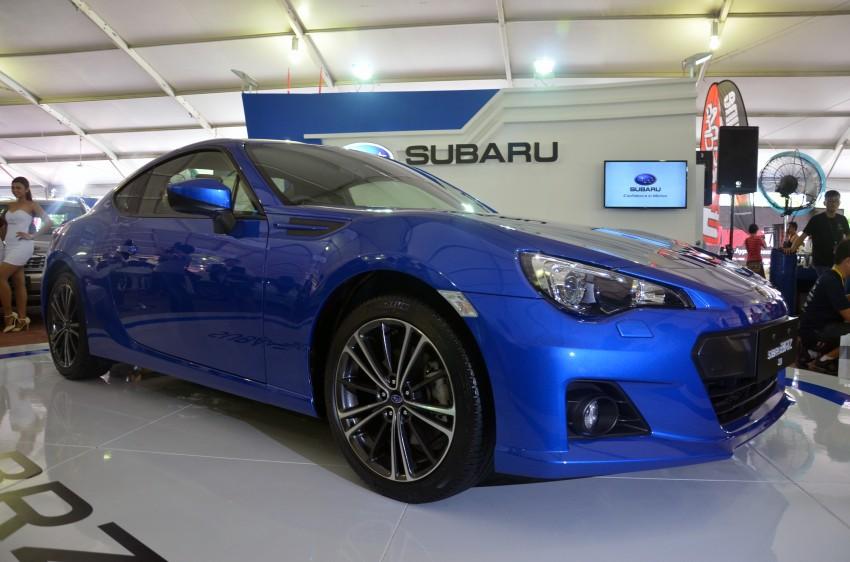 Subaru BRZ launched – six-speed auto, RM247k Image #180589
