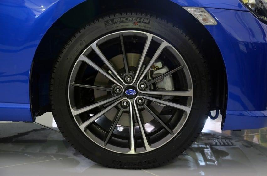 Subaru BRZ launched – six-speed auto, RM247k Image #180592