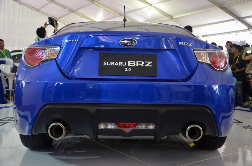 Subaru BRZ launched – six-speed auto, RM247k Image #180594