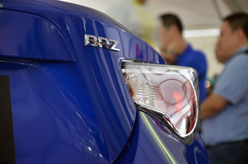 Subaru BRZ launched – six-speed auto, RM247k Image #180596