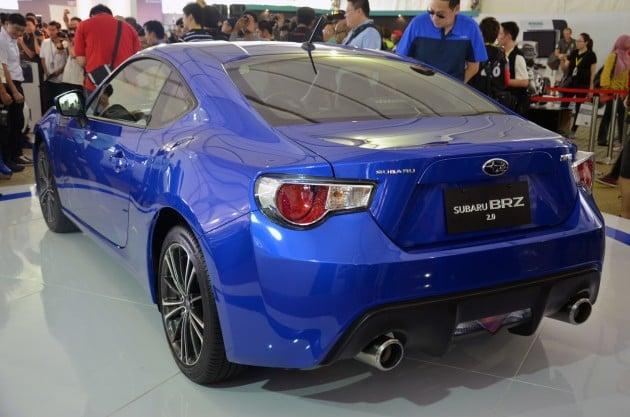 Subaru Brz Launched In Malaysia Six Speed Auto Rm247k