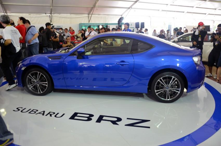 Subaru BRZ launched – six-speed auto, RM247k Image #180598