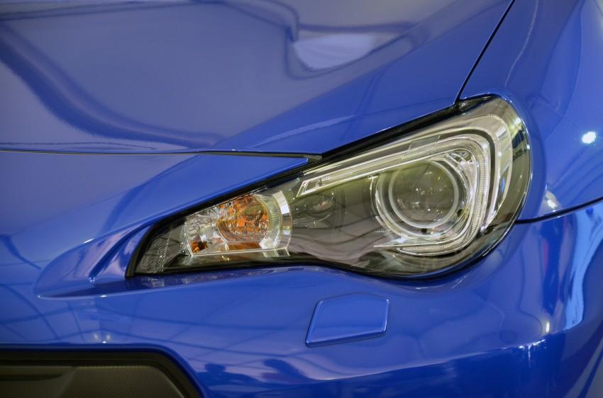 Subaru BRZ launched – six-speed auto, RM247k Image #180604
