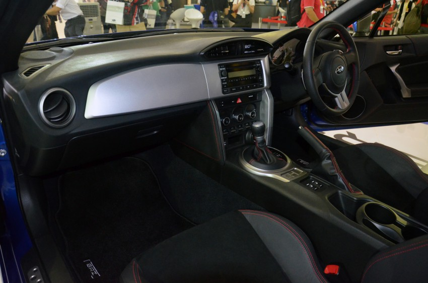 Subaru BRZ launched – six-speed auto, RM247k Image #180608