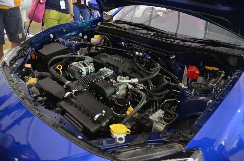 Subaru BRZ launched – six-speed auto, RM247k Image #180614