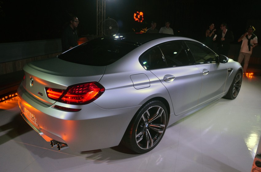 BMW M6 Gran Coupe officially launched – RM999,800 Image #182852