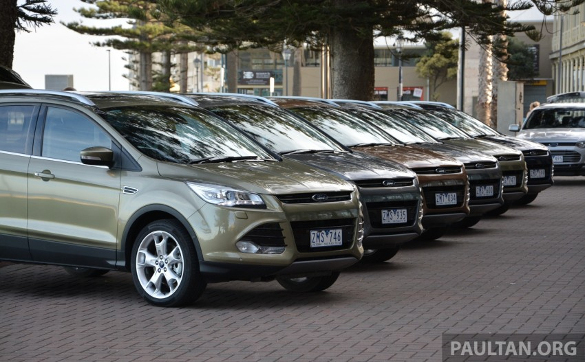 DRIVEN: Ford Kuga – 2nd-gen C520 tested in Adelaide Image #178509