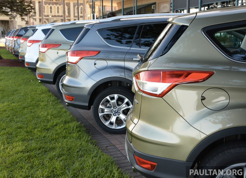 DRIVEN: Ford Kuga – 2nd-gen C520 tested in Adelaide Image #178518