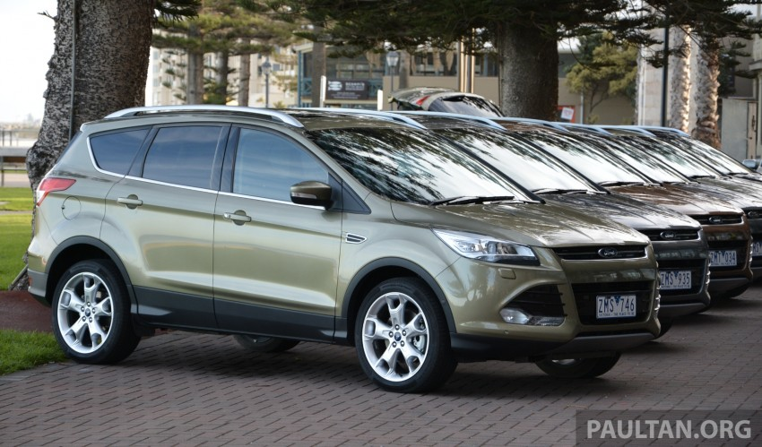 DRIVEN: Ford Kuga – 2nd-gen C520 tested in Adelaide Image #178510