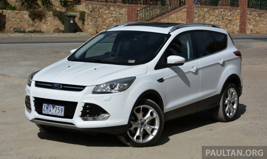 DRIVEN: Ford Kuga – 2nd-gen C520 tested in Adelaide Image #178548