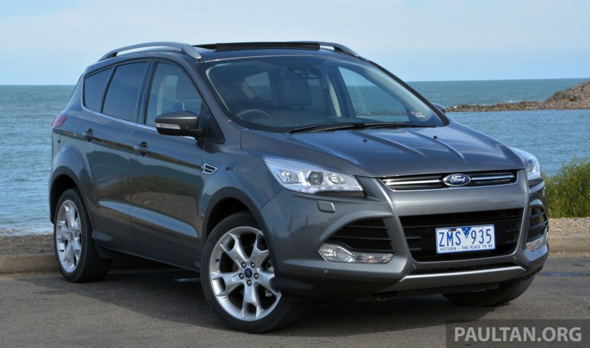 DRIVEN: Ford Kuga – 2nd-gen C520 tested in Adelaide Image #178553