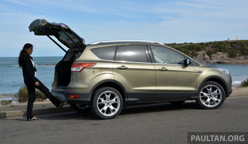DRIVEN: Ford Kuga – 2nd-gen C520 tested in Adelaide Image #178555