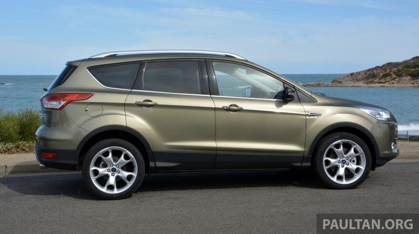 DRIVEN: Ford Kuga – 2nd-gen C520 tested in Adelaide Image #178556
