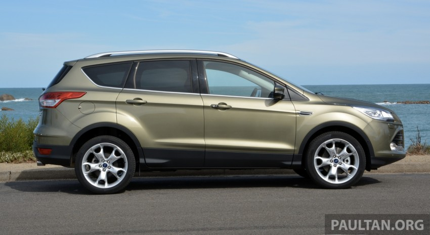 DRIVEN: Ford Kuga – 2nd-gen C520 tested in Adelaide Image #178557
