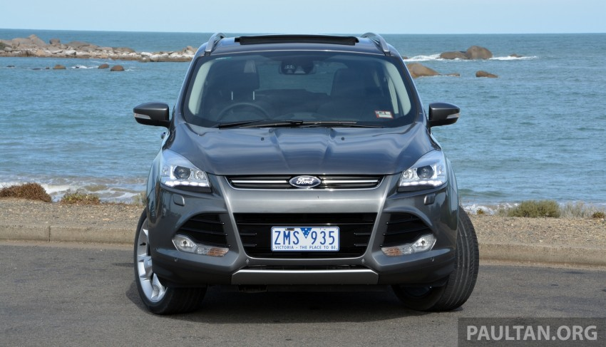 DRIVEN: Ford Kuga – 2nd-gen C520 tested in Adelaide Image #178558