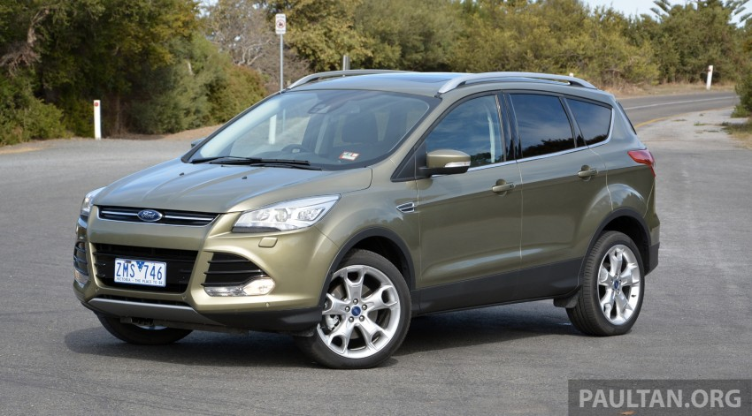 DRIVEN: Ford Kuga – 2nd-gen C520 tested in Adelaide Image #178560