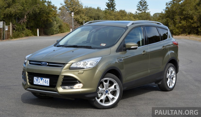 DRIVEN: Ford Kuga – 2nd-gen C520 tested in Adelaide Image #178562