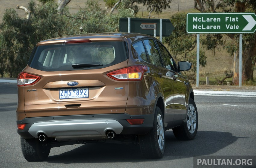 DRIVEN: Ford Kuga – 2nd-gen C520 tested in Adelaide Image #178570