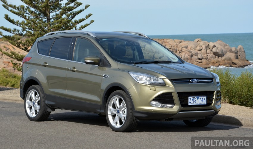 DRIVEN: Ford Kuga – 2nd-gen C520 tested in Adelaide Image #178571
