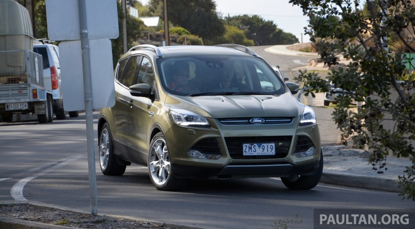 DRIVEN: Ford Kuga – 2nd-gen C520 tested in Adelaide Image #178573