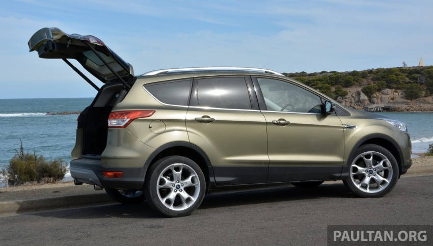 DRIVEN: Ford Kuga – 2nd-gen C520 tested in Adelaide Image #178582