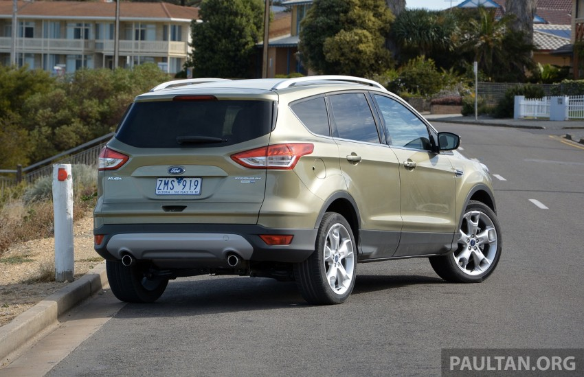 DRIVEN: Ford Kuga – 2nd-gen C520 tested in Adelaide Image #178600