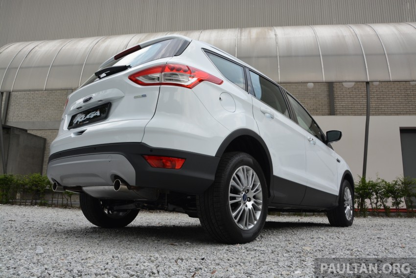 Ford Kuga launched – 1.6L EcoBoost, RM159,999 Image #178949