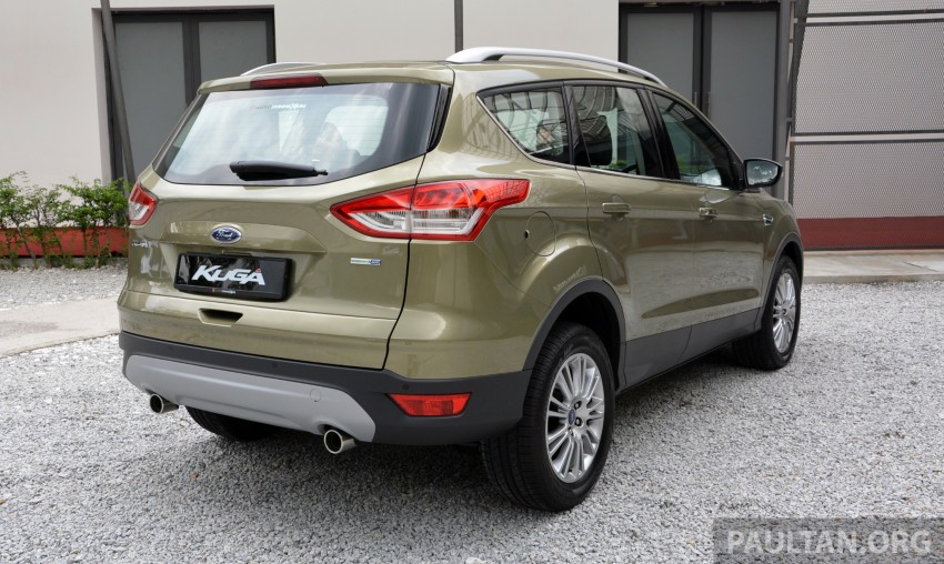 Ford Kuga launched – 1.6L EcoBoost, RM159,999 Image #178937
